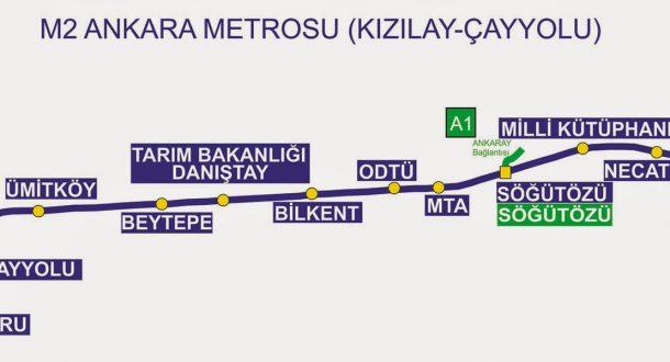 Çayyolu Metrosu M2 - 18 Nisan 2016 22:41