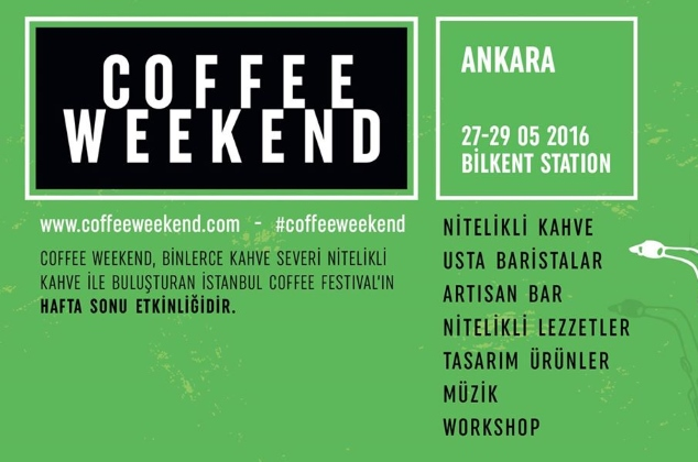 x Coffee Weekend Ankara
