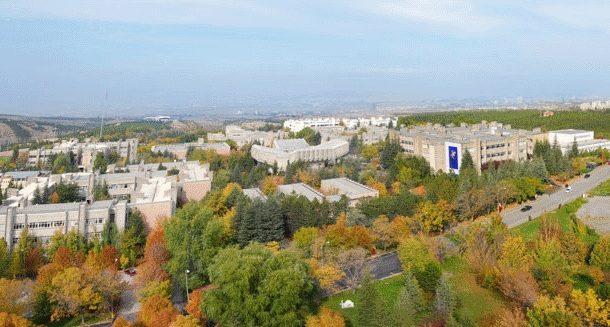 Hacettepe Üniversitesi Beytepe Kampüsü - 22 Nisan 2016 11:13
