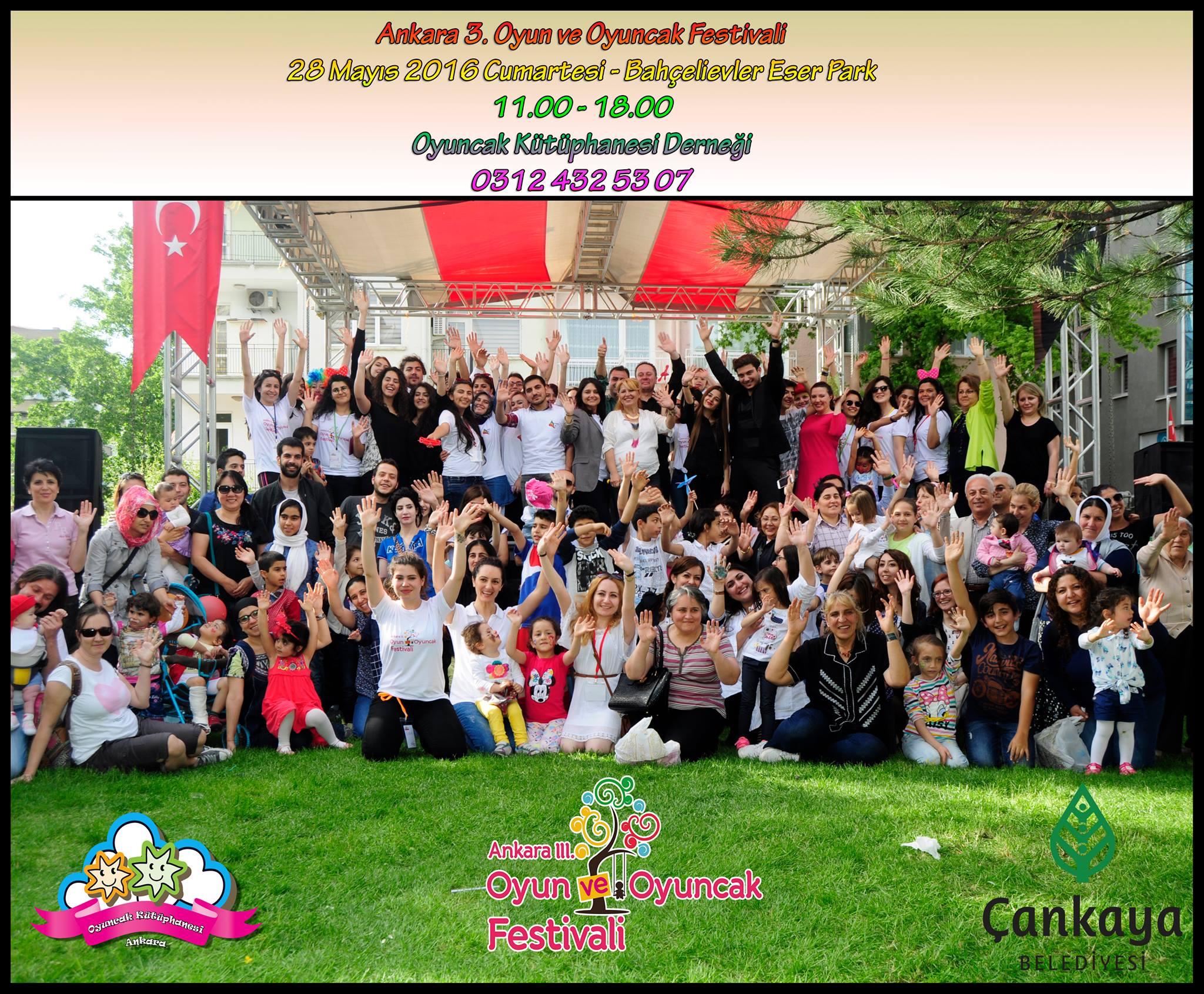 x 3. Ankara Oyun ve Oyuncak Festivali (28 Mayıs)