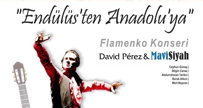 x Endülüs'ten Anadolu'ya Flamenko Konseri