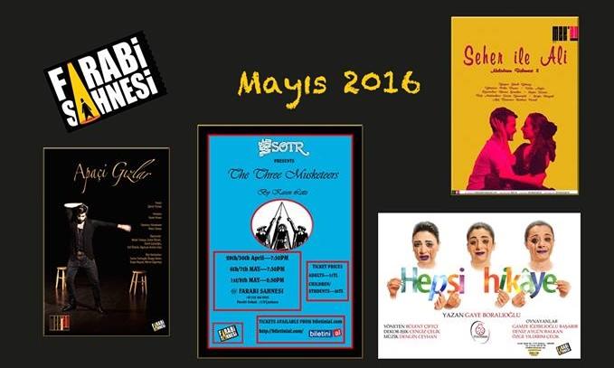 Farabi Sahnesi Mayıs 2016 Programı - Mayıs 2016 15:24