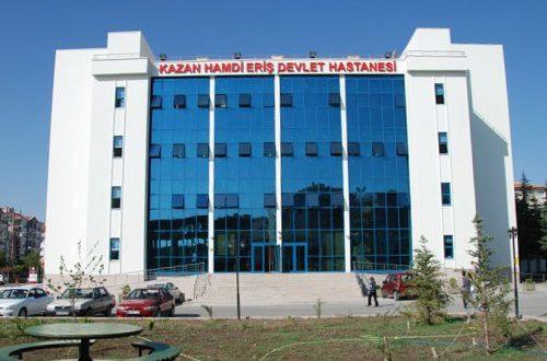 Hamdi Eriş Kazan Devlet Hastanesi - 6 Mayıs 2016 13:04