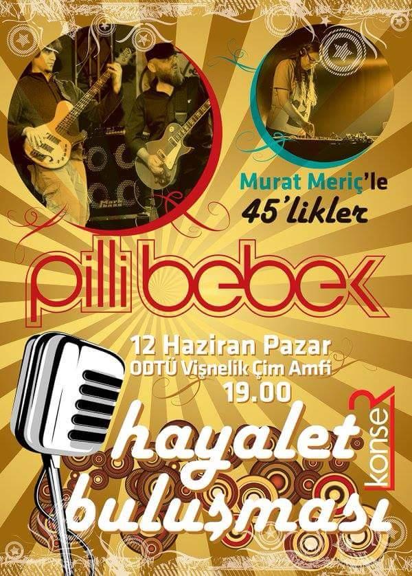 x Pilli Bebek Ankara Açık Hava Konseri