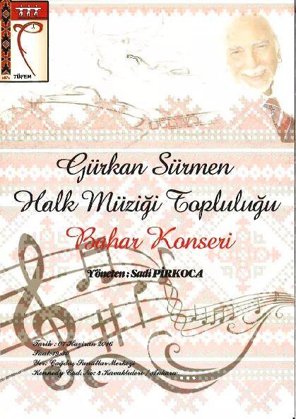 x Gürkan Sürmen Halk Müziği Topluluğu Bahar Konseri - Haziran 2016 10:11