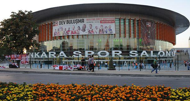 Ankara Arena Spor Salonu - 23 Eylül 2016 14:29