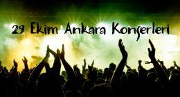 29 Ekim 2016 – Ankara Konserleri