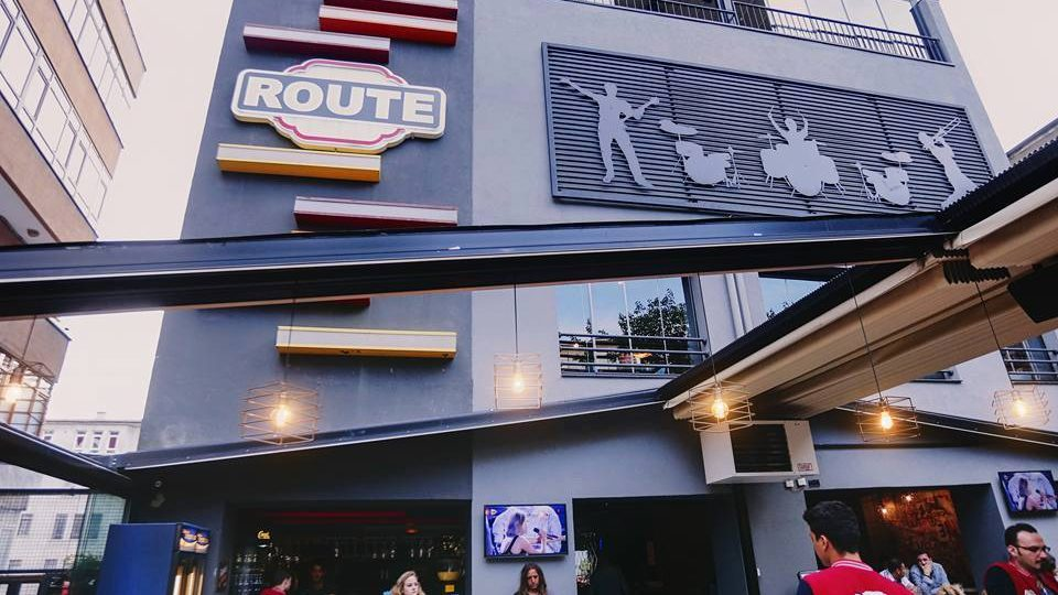 Route Bar Ankara