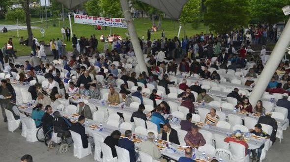 Ankara Büyükşehir Belediyesi 2017 İftar Çadırları - 10 Mayıs 2017 12:26