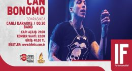 Can Bonomo – IF Performance Ankara