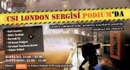 CSI London Sergisi Ankara